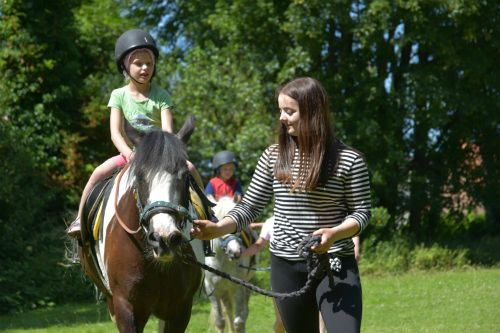 pony rides on carnival day 2018