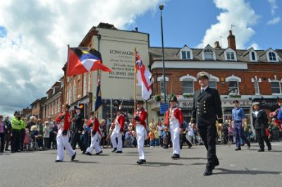 cadets on carnival day 2012